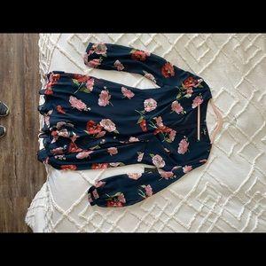 NWT. Floral Lulus Dress